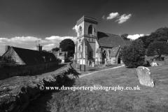 St Barnabas church, Snowshill village