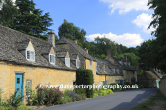Cottages at Snowshill village