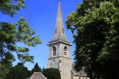 St Marys Church, Lower Slaughter village