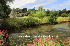 Arlington row Cottages, River Coln, Bibury