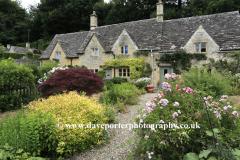 Stone Cottage gardens, Bibury village