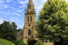 St Davids church, Moreton-in-Marsh town