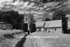 St Peters Church, Upper Slaughter village