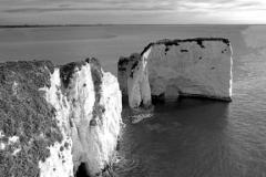 J1726 Old Harry Rocks Poole BayJurassic coastline, Dorset; England; Britain; UK
