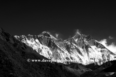 Snow capped mountains, Himalayas, Nepal