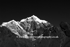 Snow, Tabouche Peak Mountain, Himalayas, Nepal