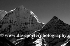 Snow, Thamsherku Mountain, Himalayas, Nepal