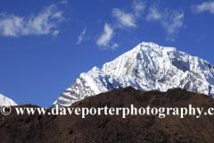 Snow, Cholatse Mountain, Himalayas, Nepal