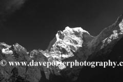 Snow, Kangtega Mountain, Himalayas, Nepal