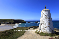 Pepper Pot lookout station, Lighthouse Hill, Portreath