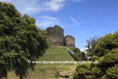 Launceston Castle, Launceston town