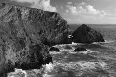 Bedruthan Steps sea stacks, Carnewas Island