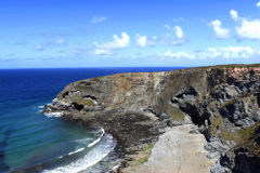 Bassets Cove, the North Cliffs Coast, Porteath