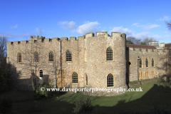 Taunton Castle, Taunton town, Somerset County, England, UK