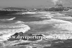 Fistral Surfing beach, Newquay town