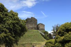 Summer, Launceston Castle, Launceston town