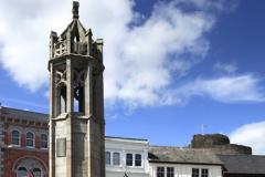 War Memorial, town square, Launceston town
