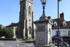 The George Courtald Memorial, Halstead Town