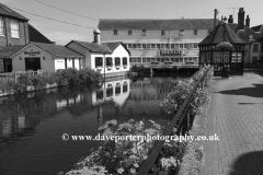 Townsford Mill, The Causeway, river Colne, Halstead