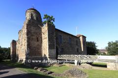 Summer, Colchester castle, Colchester town