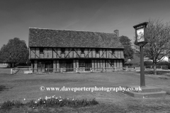The Moot Hall, Elstow village, Bedfordshire, England, UK
