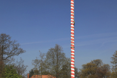The Maypole on the village green Ickwell