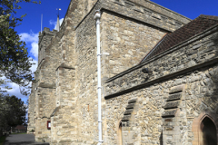 The Elstow Benedictine Abbey, Elstow village