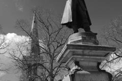 The John Howard Statue, Bedford town