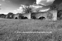 Stone bridge, river Great Ouse, Bromham village