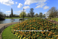 The Embankment gardens, Bedford town