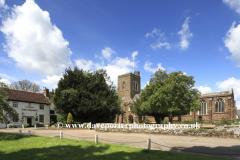 St Marys church, Northill village