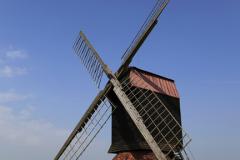 Stevington Windmill; Stevington village