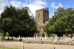 St Marys church, Northill village, Bedfordshire, England, UK