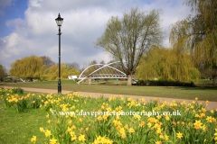 The Butterfly Bridge, River Great Ouse, Bedford town
