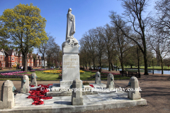 War Memorial next to the river Great Ouse, Bedford