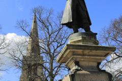 The John Howard Statue, Bedford