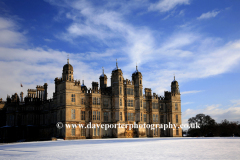 Winter Snow, Burghley House