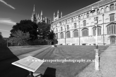 The Cloisters, Peterborough City Cathedral