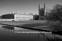River Cam, the Backs, Kings College, Cambridge City