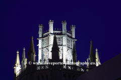 Dusk over the Octagon Tower on Ely City Cathedral