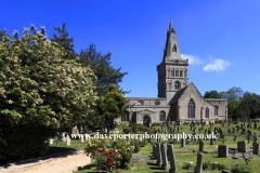 St Kyneburgha parish church; Castor village