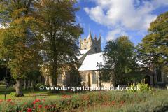 Autumn, St Peters Church, Wisbech town