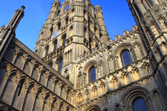 The tower at Ely Cathedral