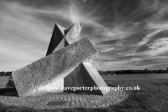 Pyramid Sculpture, Ferry Meadows, Peterborough