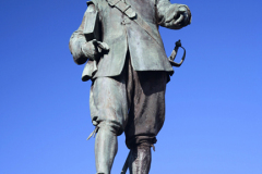 Oliver Cromwell Statue, St Ives town