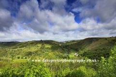 River Wye valley from Monsal Head beauty spot