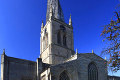 The Crooked Spire, St Marys church, Chesterfield