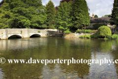 Sheepwash Bridge, river Wye, Ashford in the Water