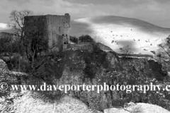 Winter, Pevril Castle, Hope Valley