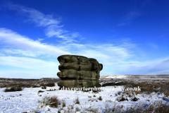 The Eagle Stone, Baslow Edge